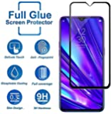 Premium Tempered Glass For Redmi Note 8 Edge to Edge Screen Protection 9H Hardness Full Glue Cover Friendly Anti Scratch (Black) by Nice.Store.UAE
