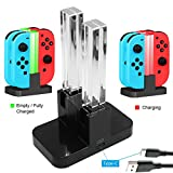 Whiteoak Joy-Con Charger, Nintendo Switch Joy-Con Charging Dock Station Stand with LED Indicator, [Upgrade Version] with Free Type C Cable For Sale