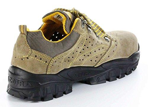 Cofra NT060-000.W46 New Nilo S1 P SRC Chaussures de sécurité Taille 46 Gris