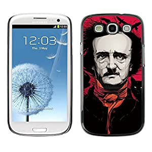 Slim Design Hard PC/Aluminum Shell Case Cover for Samsung Galaxy S3 I9300 Monty Movie Producer Comedian / JUSTGO PHONE PROTECTOR