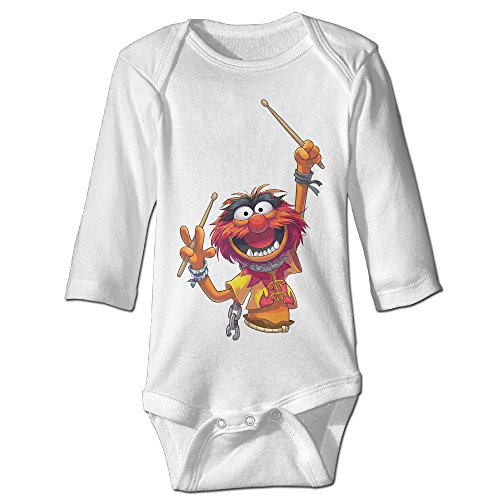 Kawani The Muppets Baby Onesie Toddler Clothes Outofits White