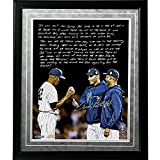 MLB New York Yankees Andy Pettitte Facsimile 'Taking Out Mo' Story Metallic Framed 16x20-Inch Photo