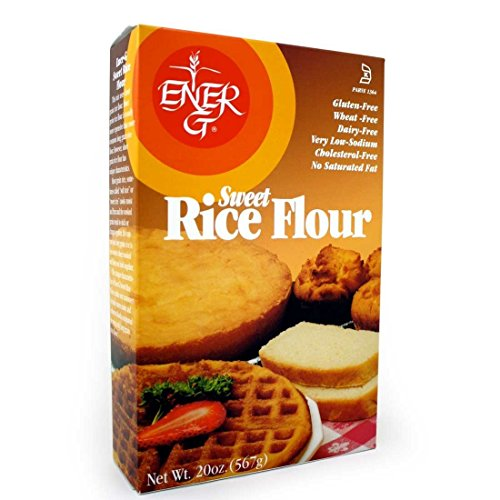 ENER-G FOODS | Flour-Sweet Rice - 20 Oz [Gluten Free] [1 (Ener G Foods White Rice)