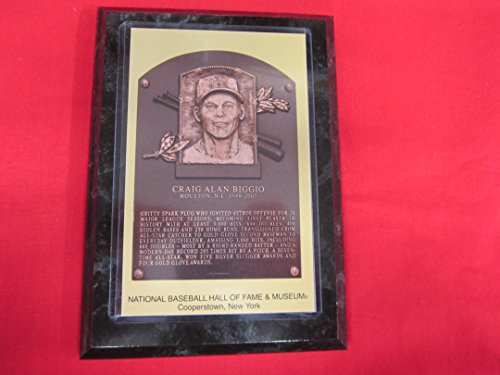 Craig Biggio 2015 Hall of Fame Induction Postcard Plaque NEW!!