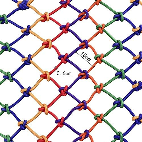 カラー保護ネット/装飾的なネットナイロンロープネット安全ネットバルコニー、階段落下防止ネットフェンスネットネット幅3メートル (Size : 3m*1m)