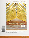 Elementary Algebra, Books a la Carte Edition, Carson, Tom and Jordan, Bill E., 032191256X