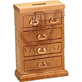 Bits and Pieces Chest of Drawers Bank - 3D Wooden Jigsaw Puzzle