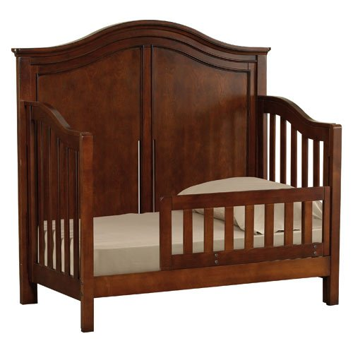 Built to Grow Toddler Bed Kit Safety Rail w/Daybed Conversion Kit for Young America Cribs (Cherry) by CC KITS (Image #2)