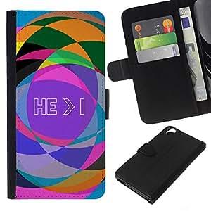 EJOY---La carpeta del tirón la caja de cuero de alta calidad de la PU Caso protector / HTC Desire 820 / --BIBLIA Resumen Biblia