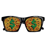 Elephant AN Themed Novelty Dollar Sign Fashionable Visual Mesh Sunglasses Fun Props Party Favors Gift Unisex