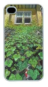 Hayao Miyazaki Custom iPhone 4s/4 Case Cover Polycarbonate White Halloween gift by Maris's Diary