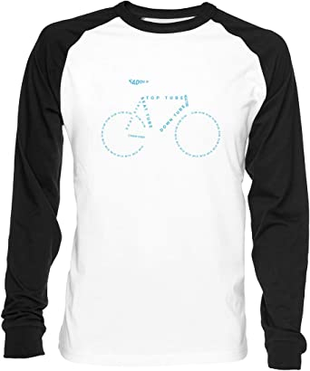 Bicicleta ANATOMÍA - Bicicleta Hombre Mujer Unisex Camiseta De ...