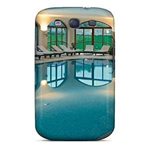 Defender Case With Nice Appearance (fantastic Indoor Pool) For Galaxy S3