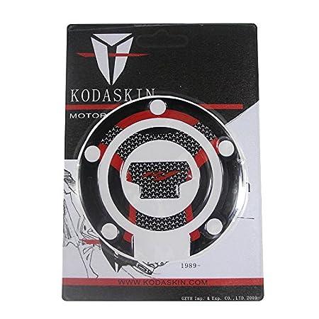 Gas Cap+Tank Pad, Red PRO-KODASKIN Gas Fuel Tank Cap Pad Protection Sticker for YAMAHA YZF R1 R1M
