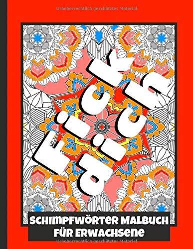 Schimpfworter Malbuch Fur Erwachsene Mandala Design Malvorlagen