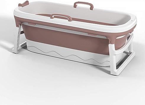 Bañera Para Adultos Bañera Plegable Portátil Hogar Plato De Ducha Grande Para Bañera Color Pink Size Without Cover Amazon Es Bricolaje Y Herramientas