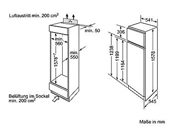 Bosch gcb3920acm 2 puertas integrable KID28 V20FF: Amazon.es ...