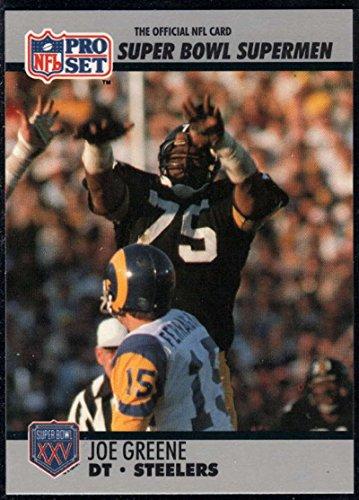 - Football NFL 1990-91 Pro Set Super Bowl 160 #84 Joe Greene NM-MT Steelers