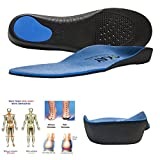 Arch Support Orthotic Shoe Insoles for Women-Men Shoe Inserts Recommended for Plantar Fasciitis