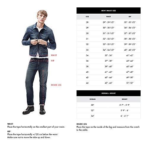 Calvin Klein Jeans Men's Relaxed Fit Denim, Authentic Blue, 29x32 by Calvin Klein (Image #3)
