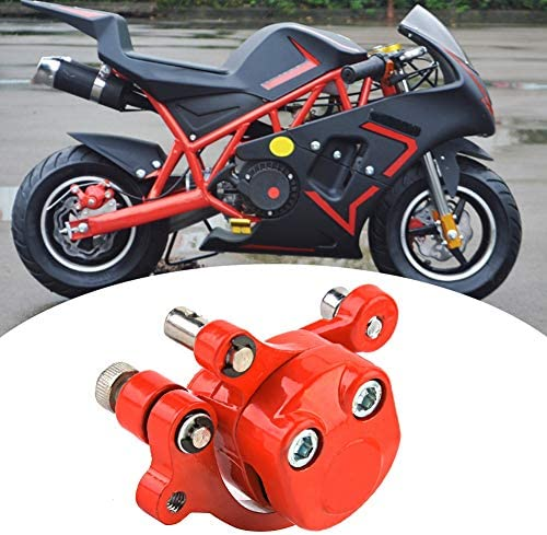 Akozon Pinza freno 120mm gruppo pinza freno a disco in metallo per 43 47 49cc elettrico go kart scooter mini moto
