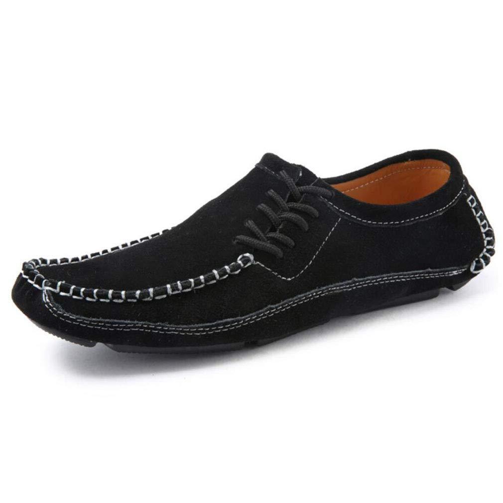 YAN Calzado de Hombre Gamuza Otoño e Invierno 2018 Mocasines y Zapatos sin  Cordones Zapatos de conducción para Fiesta Informal y Noche al Aire Libre  (Color ... 9c1ef47e896