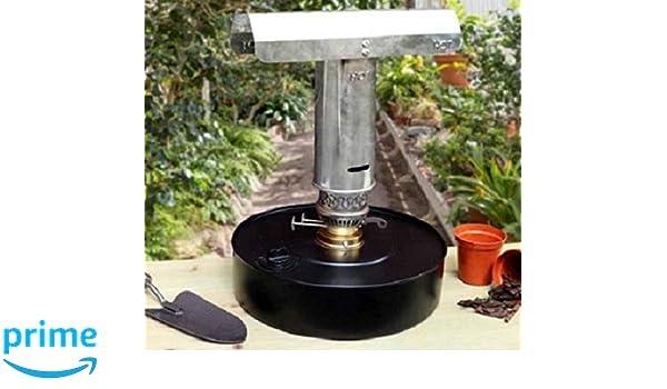 Equip247uk - Calentador de parafina para Invernadero, protección contra heladas, germinación: Amazon.es: Jardín