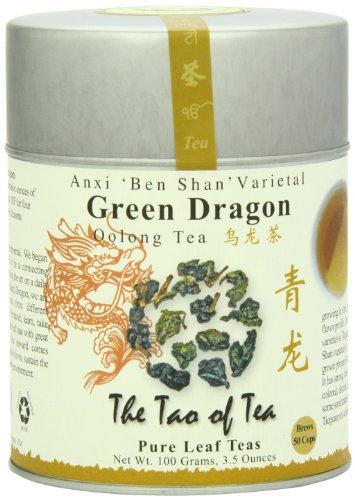 The Tao of Tea, Green Dragon Oolong Tea, Loose Leaf, 3.5 Ounce - Tea Oolong Loose
