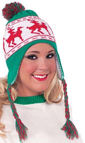 Forum Novelties Reindeer Games Laplander Hat, Multi, One Size