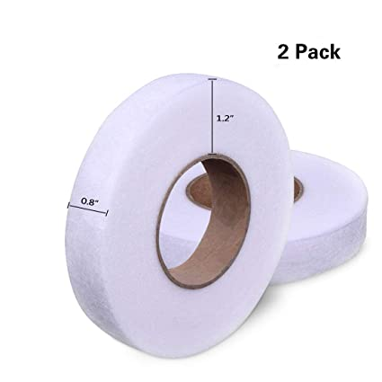 Buy Meici Hotusi 2 Pack 70 Yards Fabric Fusing Tape Adhesive Hem