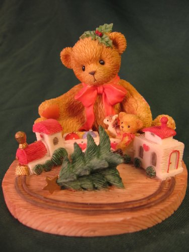 Terry Teddies - Cherished Teddies.......... Terry... Always Stay On Track With The True Meaning Of Christmas