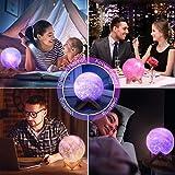 toyuugo Moon Lamp (5.9 Inch) Star Light Kids
