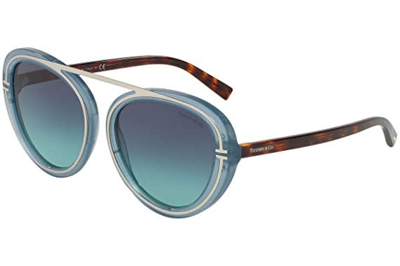 Amazon.com: Tiffany & Co. TF4147 - Gafas de sol, color azul ...