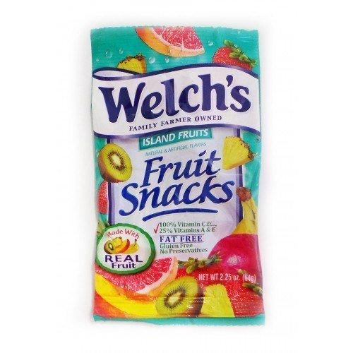 Welchs Island Fruit Snacks 2.25 Oz by Welch's