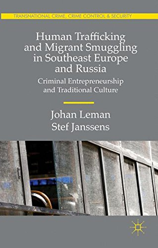 Human Trafficking and Migrant Smuggling in Southeast Europe and Russia: Criminal Entrepreneurship and Traditional Cultur