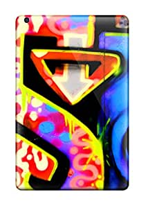 New Fashion Premium Tpu Case Cover For Ipad Mini/mini 2 - Graffiti
