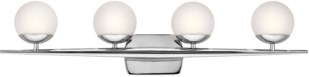 Kichler 45583CH Jasper 4-Light 4-Arm Bath Vanity in Chrome by KICHLER (Image #3)