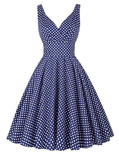 PAUL JONES V Neck Vintage Dresses product image