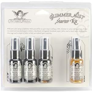 Tattered Angels Glimmer Mist Kit, 1-Ounce, Neutral