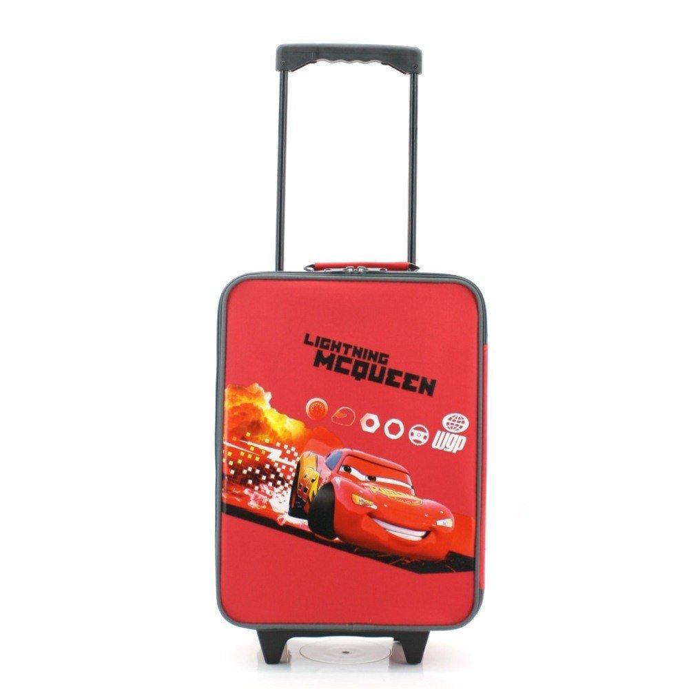 CARS Lightning McQueen WGP Original Kofferwagen Trolley Koffer Tasche Größ Urlaub Cars 1 2 3 NEU