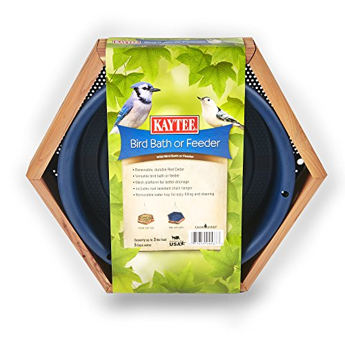 Kaytee Cedar Bird Bath or Feeder