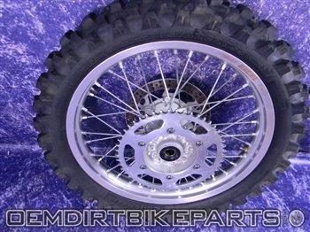 OEMDirtBikeParts Yamaha 19 Rear Hub Excel Rim Complete Wheel Yz125 Yz250 Yz450f Wr250f Wr450f Yz250f Yz426
