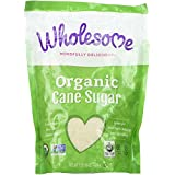Wholesome Organic Cane Sugar 16 oz (Pack of 2)