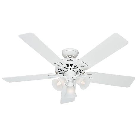 Hunter fan company 53114 the sontera 52 inch ceiling fan with five hunter fan company 53114 the sontera 52 inch ceiling fan with five whitebleached mozeypictures Gallery