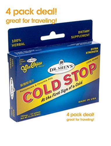 Dr. Shen's COLDSTOP 4 PACK DEAL