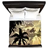 CafePress - Beach4sc - King Duvet Cover, Printed Comforter Cover, Unique Bedding, Microfiber