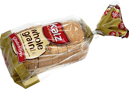 Katz, Gluten Free Whole Grain Bread, 21 Ounce, (6 Pack)