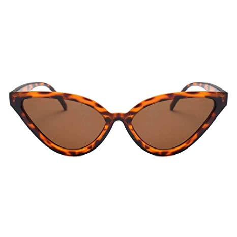 SUPERLOVE Gafas de Sol de Ojo de Gato Vintage Tendencia ...