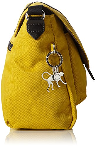 0757c45684 Kipling MAELISSA S, Sacs bandoulière Femme, Jaune (REF34N Mustard Yellow),  25x18x13 cm (B x H x T): Amazon.fr: Chaussures et Sacs