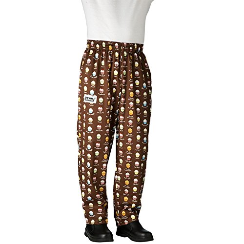 Chefwear 3500-67 Men's Ultimate Chef Pant M Cupcake (Pants Chef Ultimate)